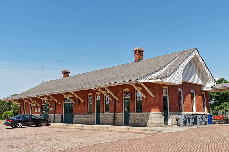 Spartangburg's Magnolia Street Train Depot