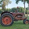 Antique Case Tractor in Adams Run