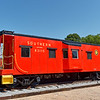 Southern Railway Caboose in Spartanburg
