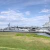 USS Laffey and USS Yorktown