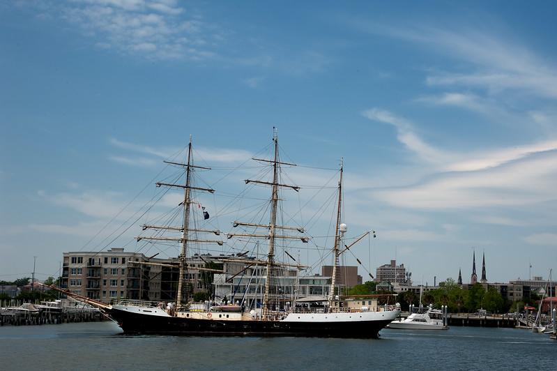 Swedish training ship Gunilla