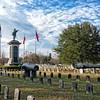 Confederate Burial at Magnolia Cemetery