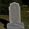 Tombstone at Greer City Cemetery