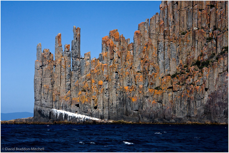Dolorite cliffs, Cape Raoul