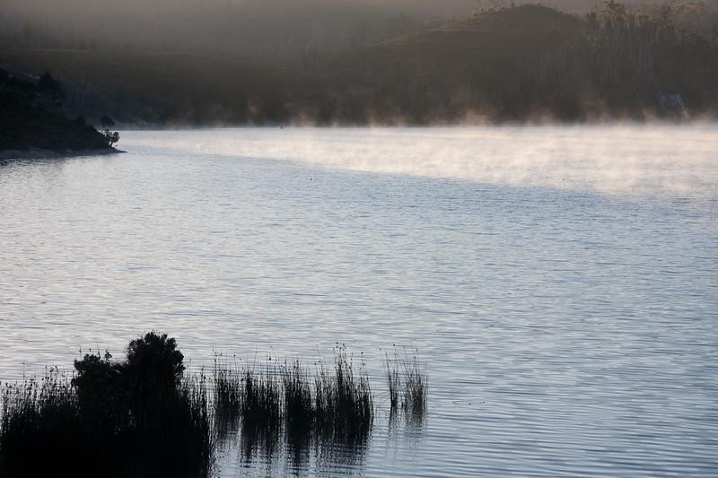 Lake Pedder, Dawn