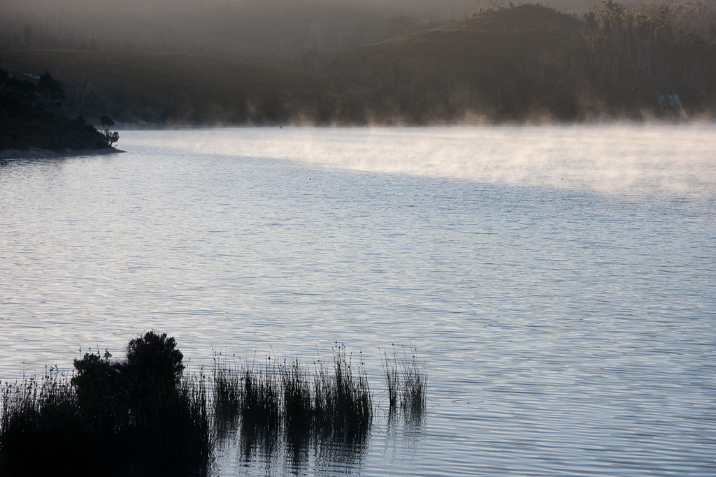 Lake Pedder, Dawn