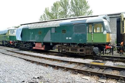 Class 25 25191    29/08/15