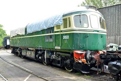 Class 33 D6501 (33002)    29/08/15