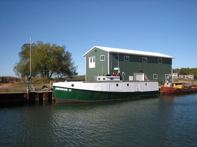 One of the few commercial fishing boats still operating in Lk. Superior - Cornucopia, WI