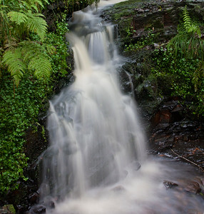 A small dreamy waterfall in Glyneath