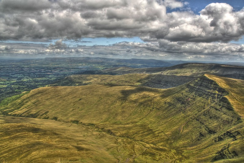 Cribben and the East from Pen Y Fan