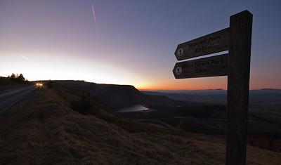 Llyn Fawr near Hirwaun, Brecon Beacons