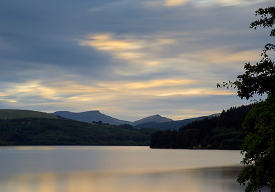 Brecon beacons across Pontsticill reservoir again