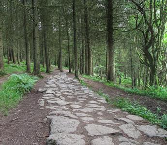 Four waterfalls path