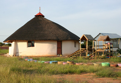 YWAV performance space and playground.  the playground was donated by operah's people.  dennilton, south africa