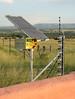 even in rural areas, electric fences are common.  YWAV site in dennilton.