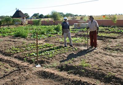 gardening at YWAV
