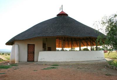 YWAV performance space.  dennilton, south africa
