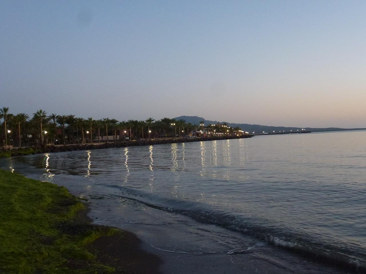 Sunrise in Loreto - about 5:30 am