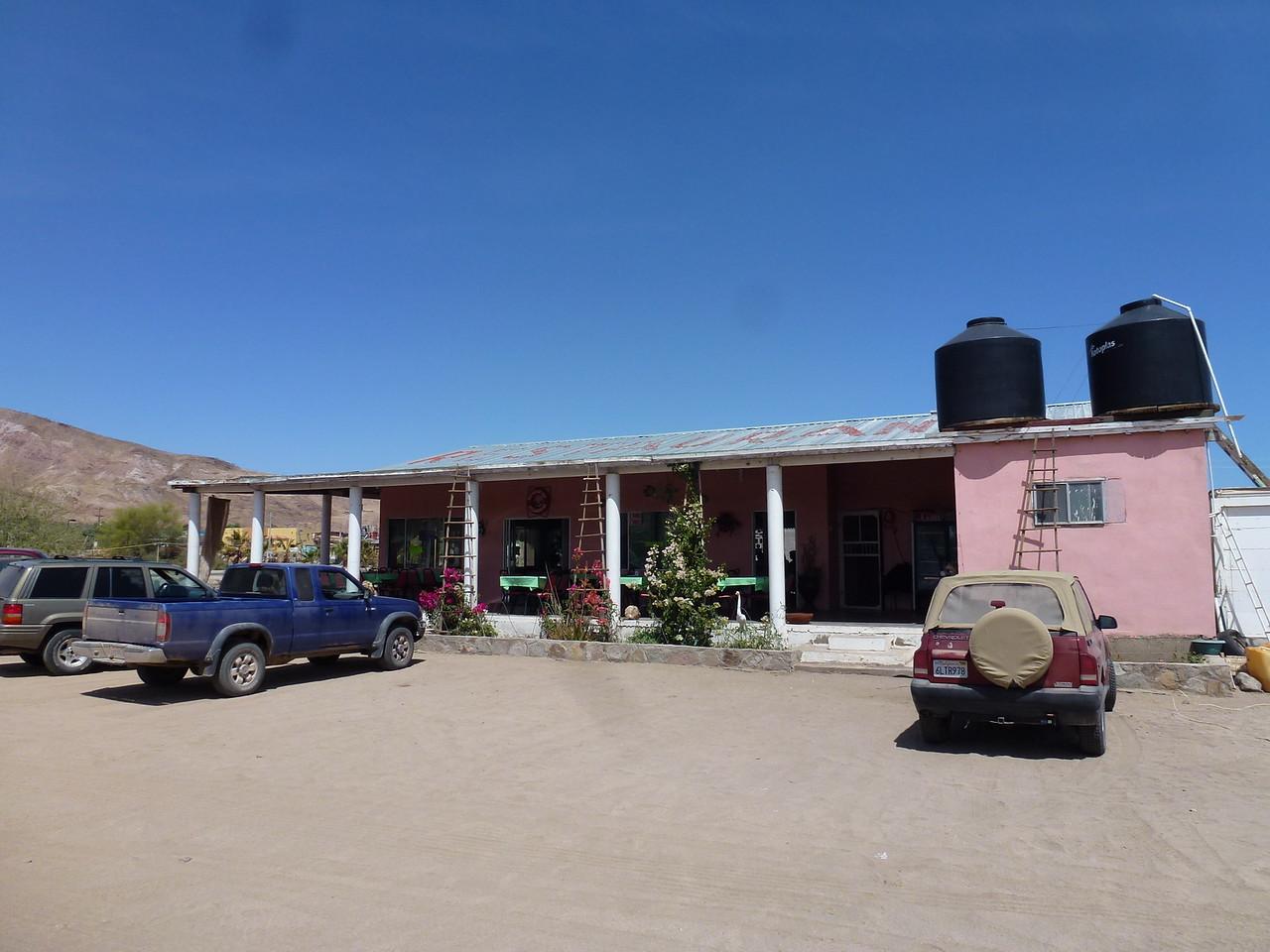 Had breakfast here at Alejandrina's place in Bahia