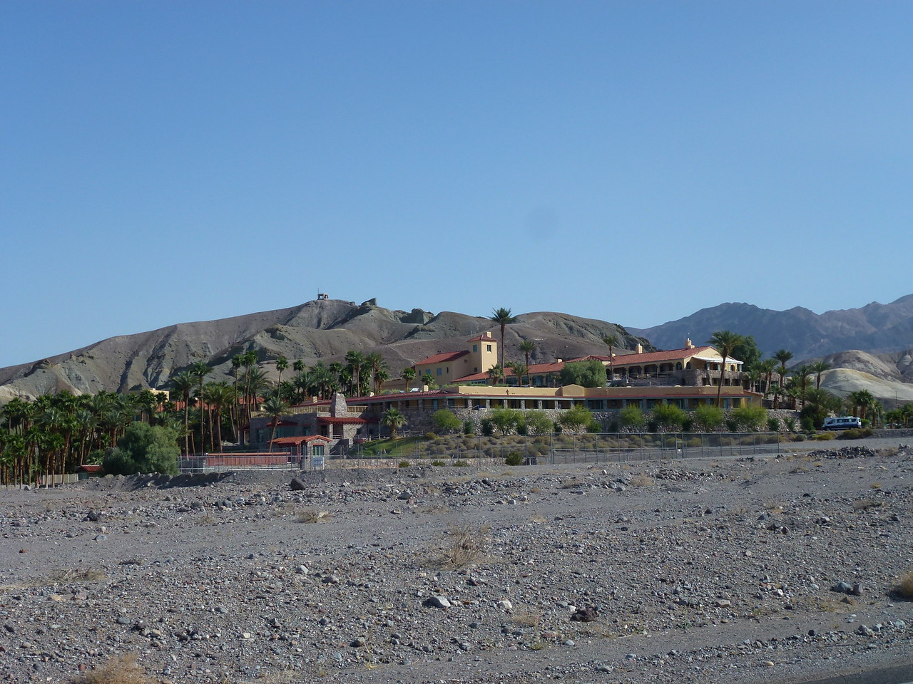 Furnace Creek Inn  <br /> <br /> A must stop for breakfast on your way thru Death Valley .
