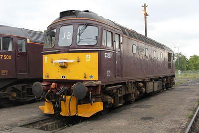 Class 33 33207  17/05/11.