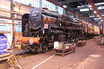 4-6-2 70000 'Britannia'  17/05/11.