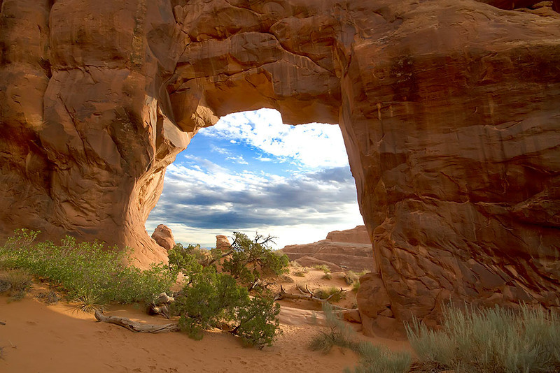 Pine tree arch, Arches NP