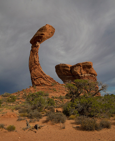 Unbalancing Balanced Rock, Arches NP