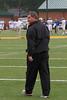 Coach Dean has game face on