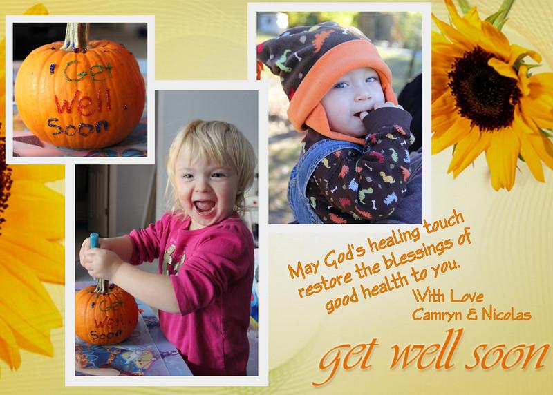 Get well soon-gmaw