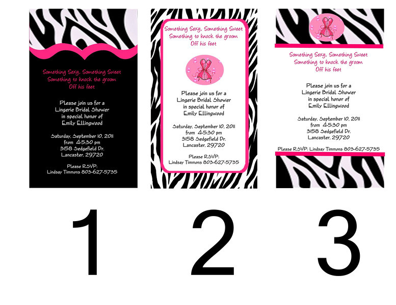 Bridal Shower Invites - Page 009