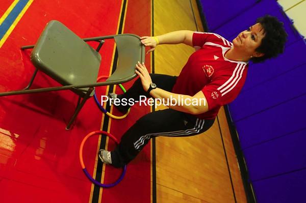 Thursday, January 29, 2009. Photos of a fitness class at the CVPH Wellness Center.<br><br>(Staff Photo/Kelli Catana)