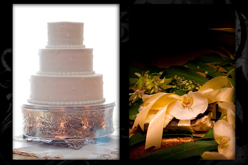 This wedding cake and bible were in the right light.  I love it.