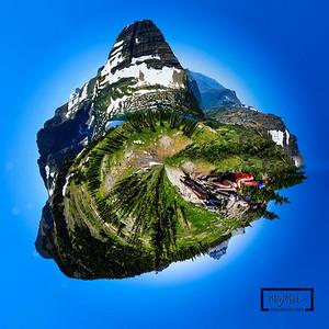 Planet Mirror Lake