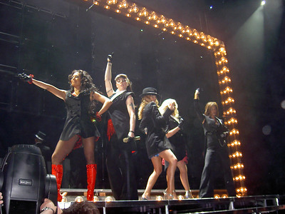 Spice Girls Reunion Tour at London O2 Arena on 4th January 2008 Photo by Nina Perry