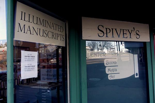 Spivey's Rare & Not-So Rare Book Store Closes