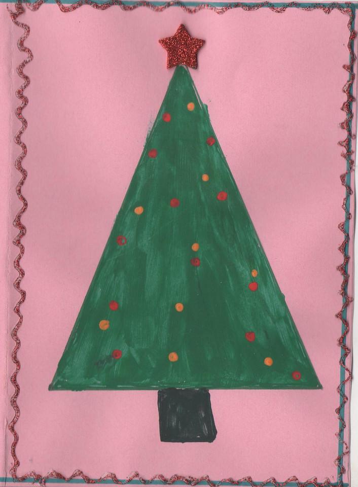 Abigail del Socorro´s holiday card 2014