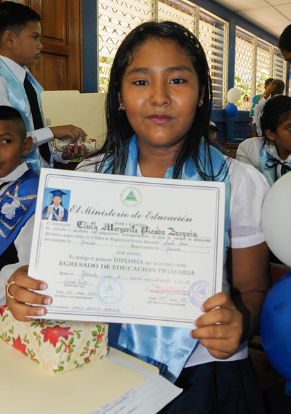 Elementary school graduation. December 2018.