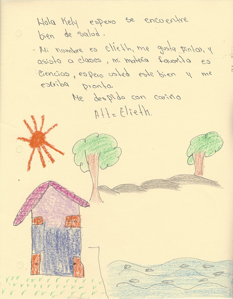 Letter From Elieth To Kelly (March 2017)