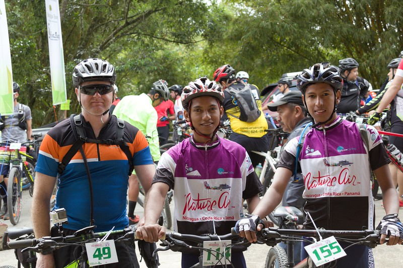Armando and Maynor with Doug in Matagalpa