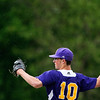 DEXTER, Maine -- 06/02/2017 - Bucksport's Chase Carmichael pitches to Dexter during their baseball game in Dexter Friday. Ashley L. Conti | BDN