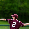 OLD TOWN, Maine -- 05/24/2017 - Orono's Evan Kenefic  pitches to Old Town during their baseball game in Old Town Wednesday. Ashley L. Conti | BDN