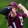 ORONO, Maine -- 05/31/2017 - Orono's Jackson Coutts pitches to Central during their baseball game at Orono Wednesday.  Ashley L. Conti | BDN
