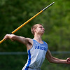 DOVER-FOXCROFT, Maine -- 06/03/2017 - Mountain Valley's Chris Glover competes in the javelin throw as part of the State Class C Track and Field Championship Meet at Foxcroft Academy in Dover-Foxcroft Saturday.  Ashley L. Conti | BDN