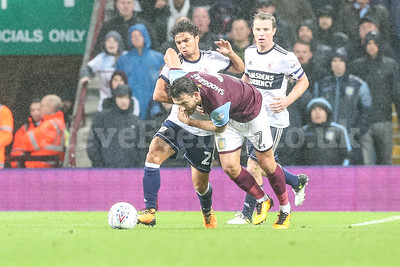 2017 EFL Championship Aston Villa v Middlesbrough Sep 12th