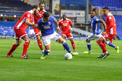 2017 Football Carabao Cup First Round Birmingham City v Crawley Town Aug 8th