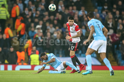 2017 UEFA Champions League Man City v Feyenoord Nov 21st