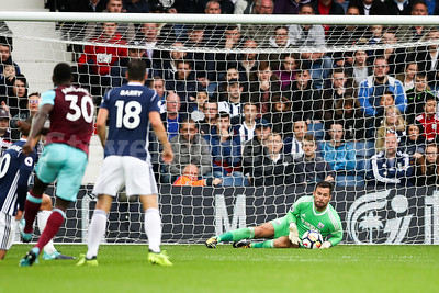 2017 EPL Premier League WBA v West Ham Sep 16th
