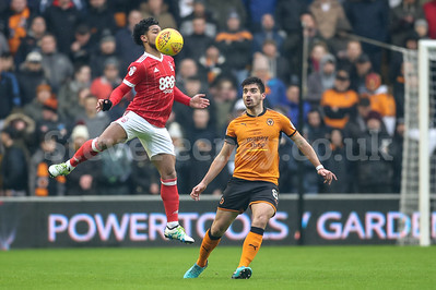 2018 EFL Championship Football Wolves v Notts Forest Jan 20th